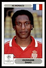 Panini Champions League 2000/2001 - Ousmane Dabo AS Monaco No. 161