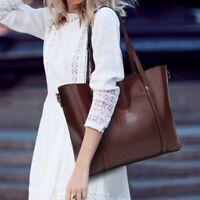 Women Laptop Messenger Tote Shopper Shoulder Satchel Bag Oil Wax Leather Handbag