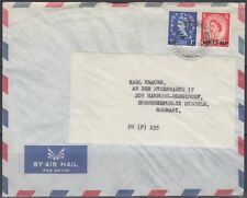 Cover BPAEA Muscat Oman to Germany, QEII ovpt. on GB [bl0369]