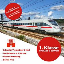 +++ 1. Klasse Bahn Upgrade & Sitzplatz eCoupon Gutschein Deutsche Bahn ICE +++