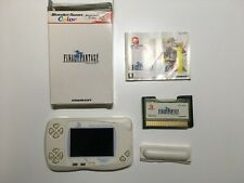 WonderSwan Color, Final Fantasy I Console, Bundle, Limited Edition, BANDAI