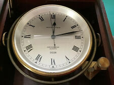 Hamilton ships Chronometer Quartz. Box And gimbals