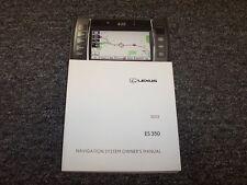 2012 Lexus ES350 ES 350 Navigation System Owner Operator Guide Manual 3.5L V6