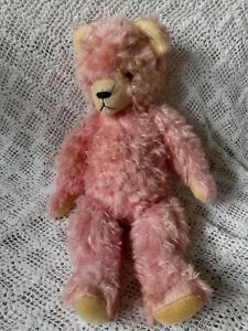 Carnival PINK 1960s Vintage big Teddy Bear growler works Collectors toy