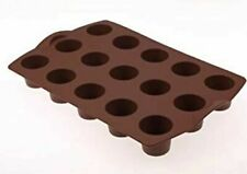 Moule à mini muffins en silicone TUPPERWARE couleur chocolat occasion