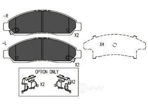 Disc Brake Pad Set-TSS Ceramic Pads Front Dash 4 Brake TD1039CH