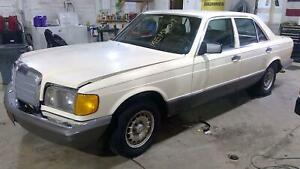 81-87 Mercedes 300D Right Rear Power Window Regulator/Motor OEM