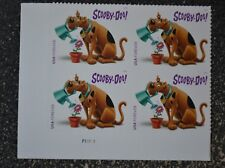 2018USA Forever Scooby-Doo! - Plate Block of 4  Mint NH
