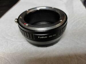 Fotodiox Nikon F to Fujifilm X Adapter