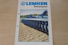 158096) Lemken Walzen Prospekt 10/2003