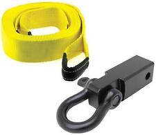 """Smittybilt 2"""" Receiver Mount D-Ring Shackle & 30 Foot 20,000 lb. Recovery Strap"""