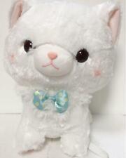 Fuwaneko Myu-chan Amuse Prize Plush Doll Item White A walk About 40cm Japan