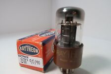 6SN7WGT Raytheon Brown Base Tested Balanced HiFi Amp Audio Radio Vacuum Tube