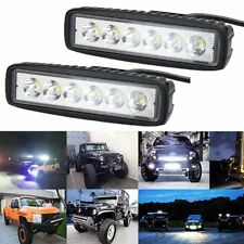18W  Flood Lamp Bar Reversing Auto Bulb LED Work Light for Off Road Jeep SUV 4WD