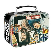 "THE BEATLES Pop Rock and Roll ANTHOLOGY TIN TOTE LUNCHBOX 4"" x 7-1/2"" x 10"" New"