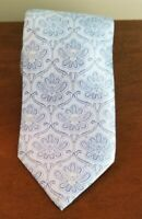 Brioni Tie Handmade 100% Silk Made In Italy Gorgeous Blue EXC. Cond. 61 In. Long