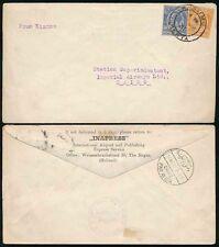 KENYA KUT to EGYPT 1931 via IMPERIAL AIRWAYS HOUSE GB..INAPRESS AIRPOST ENVELOPE
