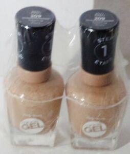 2 Sally Hansen Miracle Gel No Light Needed Nail Polish TOTEM-LY YOURS 209 Sealed