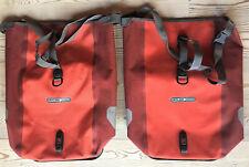 2x ORTLIEB Front-Roller Plus 2x12l rot Gepäcktaschen Fahrradtaschen Packtaschen