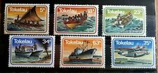 1983 Full Set Of 6 Tokelau Islands Stamps - Transport - MNH