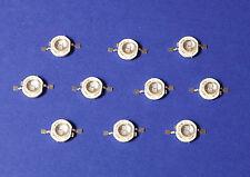 10 X 5W POWER UV LED  Emitter 390nm Ultra Violet  Banknote Money Schwarzlicht