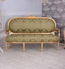 Königliches Sofa Barock Sitzbank Salonsofa Antik Stil Couch