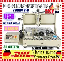 USB Port CNC Fräsmaschine / CNC Graviermaschine / CNC Fräse 4 Achse 6090 2200w