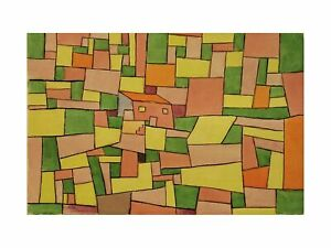 Paul Klee - Country House of Thomas 1927 Print 60x80cm