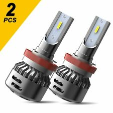 2Pc H11 H8 H9 LED Headlight 80W 16000LM Headlight Kit Low Beam Bulbs High Power