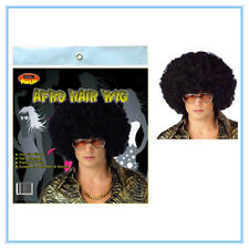 AFRO NOVELTY HAIR WIG - BLACK COLOUR COLOR - ADULT SIZE - PARTY CUSTOM