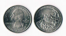 ETATS UNIS @ QUARTER DOLLAR USA DE 2014 D : PARC NATIONAUX SHENANDOAH @ 2014 P !