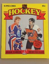 1987 O-Pee-Chee OPC NHL Sticker Album 1 ONLY
