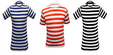 Children's Unisex Fashion Stripe T-shirts Casual/Party Wear Summer T-Shirt Tops