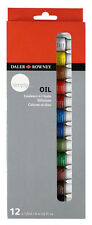 Daler Rowney Simply Oil Paint Set - 12 x 12ml Tubes