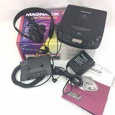 Vintage 1996 MAGNAVOX AZ 7166 Car Portable Compact Disc Player & Accesories 4799