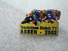 PINS,SPELDJES DUTCH TT ASSEN GAULOISES 2002 NO 46 ROSSI ? AND NO 11 MOTO GP