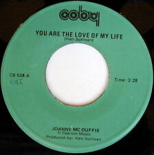JOANNE MCDUFFIE: You Are The Love Of My Life / Matches That Don't Burn 45 Soul