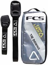 FCS Cam Lock Tie Down Straps for Surfboards - Black