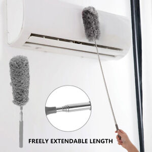 Microfiber Feather Duster Telescopic Handle Extendable Magic Cleaning Brush