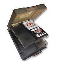 16 x BLACK GAME CARD CASE HOLDER for NINTENDO DS DSi LITE CARTS UK Seller