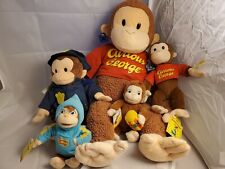 NWT Curious George Plush Bundle of 5