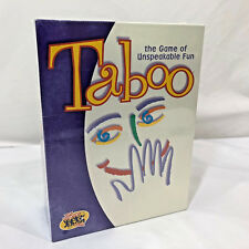 2000 Taboo The Game of Unspeakable Fun Adult Party Game By Hasbro New & Sealed