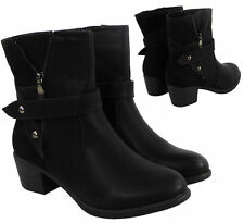Mid Heel (1.5-3 in.) Synthetic Upper Cuban Boots for Women