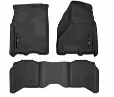 Husky X-Act Floor Mat Set 09 -16 Ram 1500 / 10-17 Ram 2500/3500 Crew Cab Black