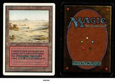 MRM ENGLISH Badlands (Désolation ) Front NM Back Good MTG magic Unlimited BA01U