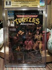 Teenage Mutatn Ninja Turtles Adventures 1 CGC Signature Series NYCC SDCC CBCS