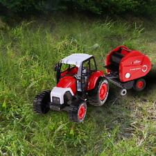 1:32 Alloy Farm Tractors Trailers Model Engineering Car Truck Harvest Toys Gifts