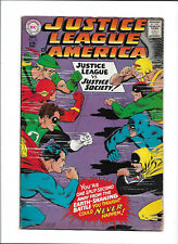 JUSTICE LEAGUE OF AMERICA #56 [1967 GD-VG] 1ST SILVER-AGE APP GA WONDER WOMAN!