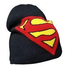 Capuchón Superman Logo Junior Gorro Invierno Hat DC Historietas