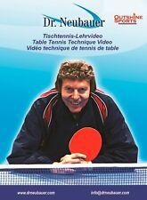 Dr Neubauer Table Tennis Technique DVD 2008